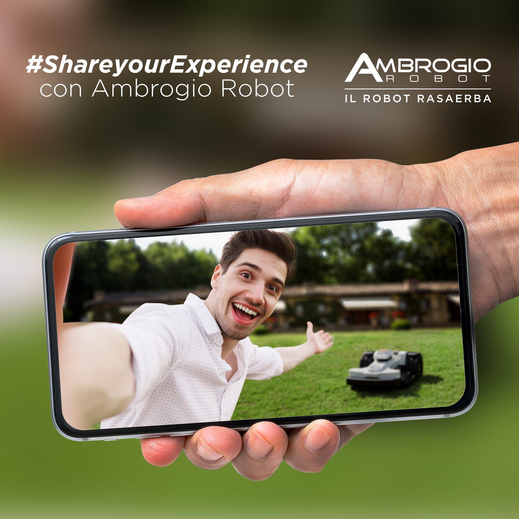 Ambrogio Robot Diventa Testimonial